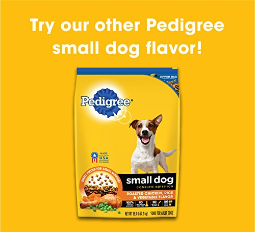 Pedigree Small Dog Complete Nutrition Adult Dry Dog Food Grilled