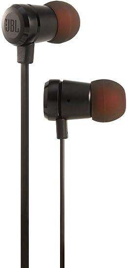 JBL T290 - Auriculares Intraaurales con el Potente Sonido Pure Bass de JBL (Aluminio), Negro: Amazon.es: Electrónica