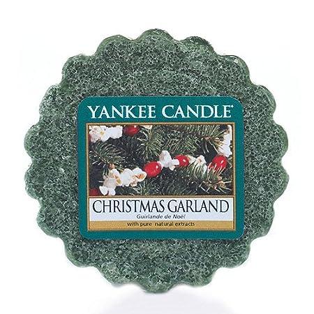 Yankee Candle Christmas Garland Wax Tart Melt Green 6 2 X 5 7 X 2 Cm