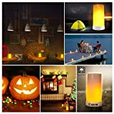 LED Flame Effect Light, USB Rechargeable Flame