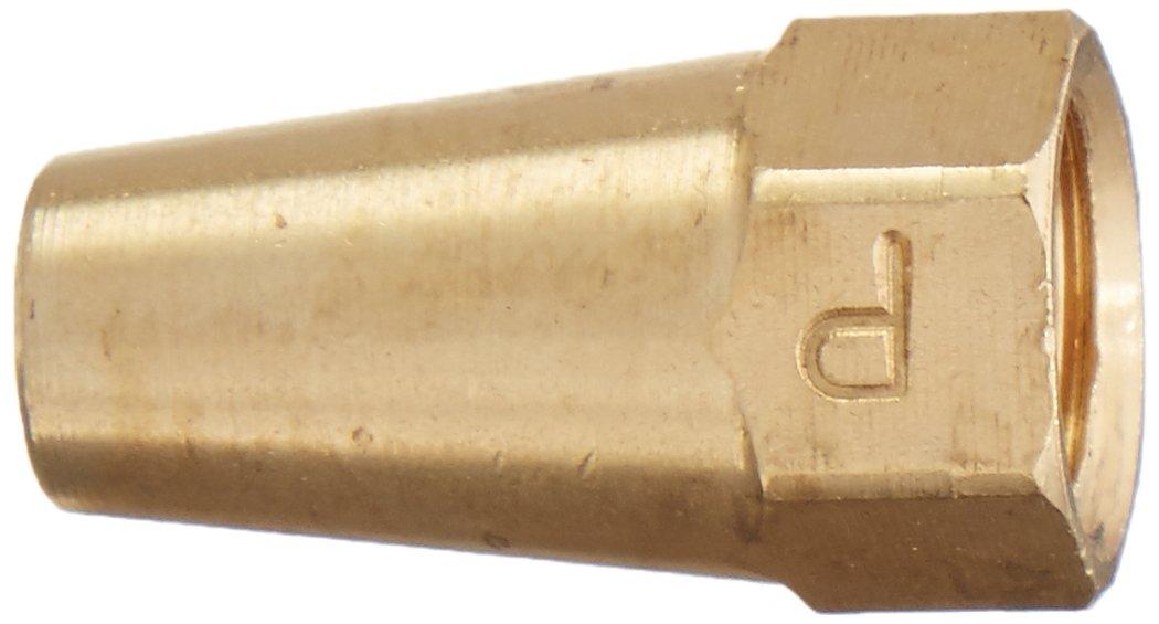 Pack of 10 Brass 1//8 Flare Parker 41FL-2-pk10 Long Nut
