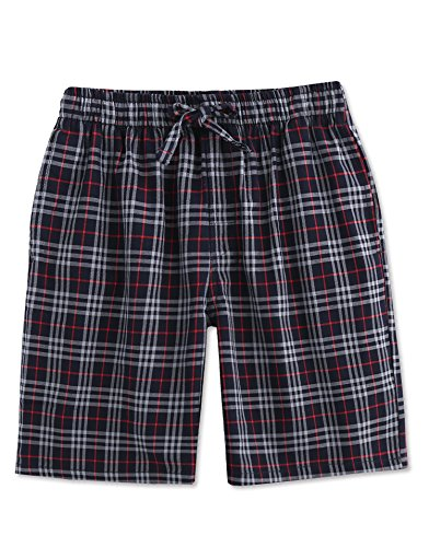 Plaid Check Soft 100% Cotton Shorts Pants