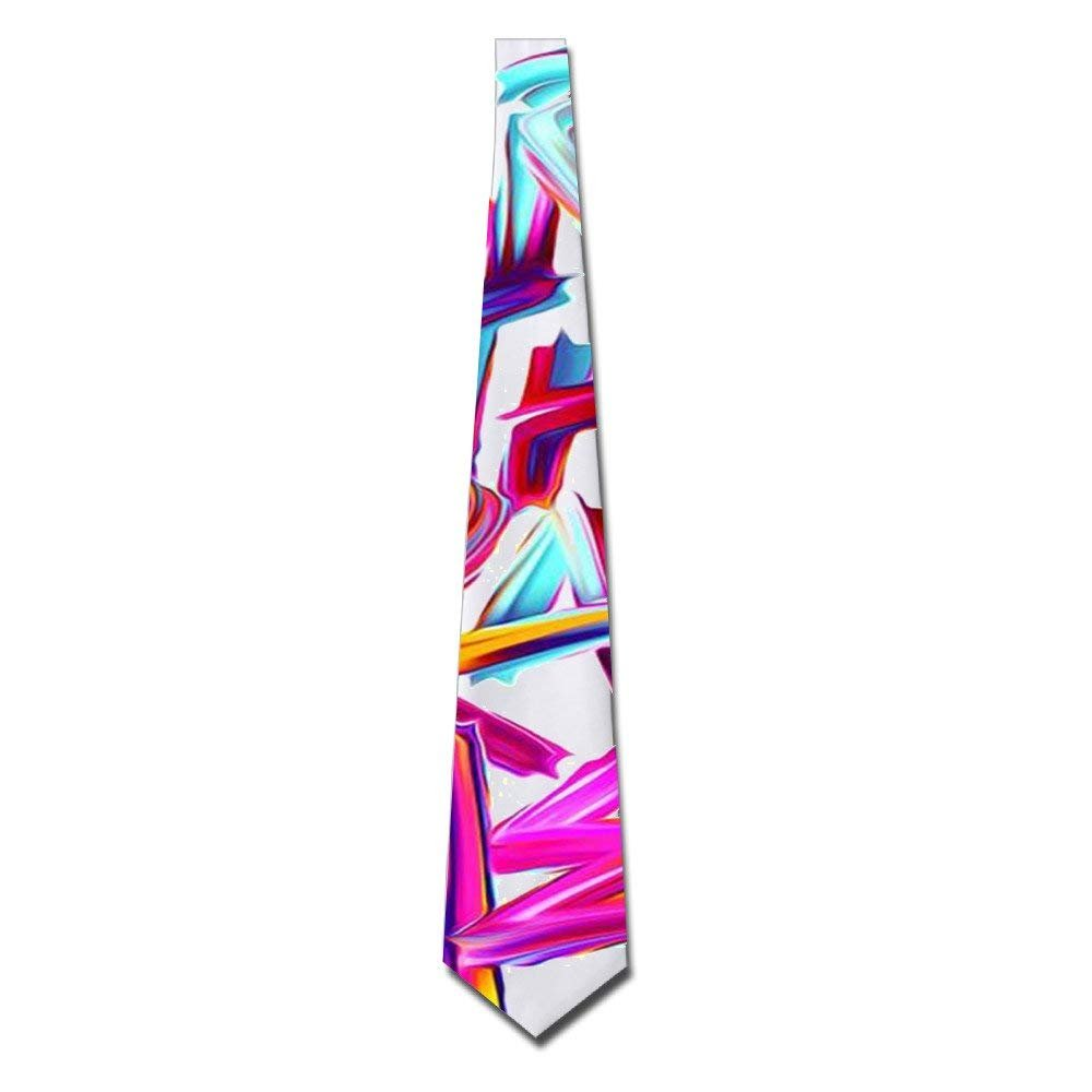 Here's To The Crazy Ones Men's Funny Tie Fashion Novelty Necktie Chery23