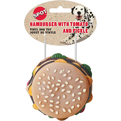 Ethical Hamburger with Tomato and Pickle 3-1/2-Inch Vinyl Do