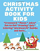 Christmas Activity Books For Kids: Crossword