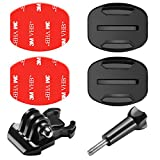 Neewer 6-in-1 Action Camera Accessory Kit for GoPro Hero Session/5 Hero 1 2 3 3+ 4 5 6 7 SJ4000 5000 6000 DBPOWER AKASO VicTsing APEMAN WiMiUS Rollei QUMOX Lightdow Campark And Sony Sports DV and More