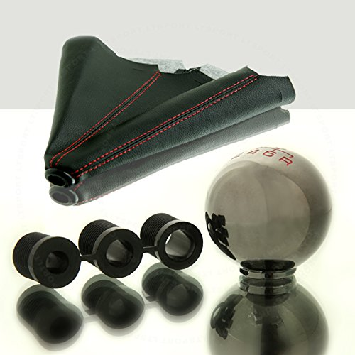 LT Sport SN#100000000758-0763-219 For Mazda Zinc Alloy Manual Stick Shift Knob boot Combo