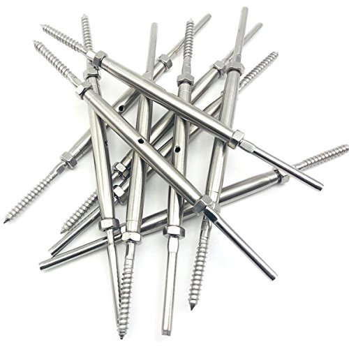 Lag Screw Swage Turnbuckle,for 1/8
