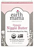 Earth Mama Organic Nipple Butter for Breastfeeding and Dry Skin, 2-Fluid Ounce