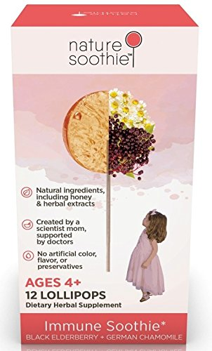 Soothie All Natural Lollipop Elderberry Chamomile product image
