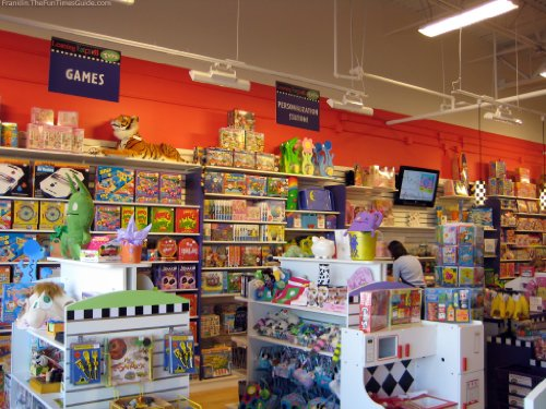 business plan for toy store
