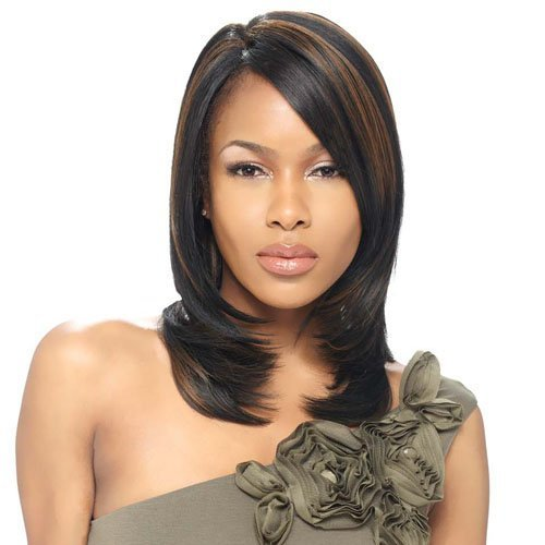 Price comparison product image Model Model Natural Part Synthetic Lace Front Wig - Francelle-P4 / 30 by Model Model