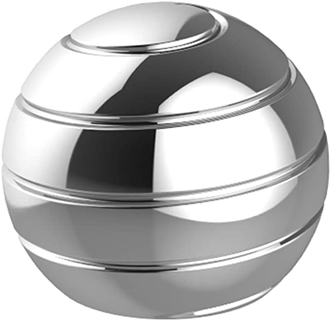 Metal Desk Ball Spinning Tops, Kinetic Spinning Desk Toy That ...