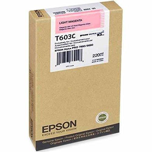 (Epson UltraChrome K3 Ink Cartridge - 220ml Light Magenta (T603C00))
