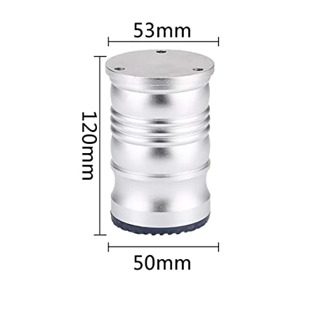 Gambe In Alluminio Per Tavoli.Lqjjt Gambe Per Tavoli Piedini For Mobile Bagno Regolabili Gambe