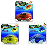 twister trax light up cars - Mindscope Twister Tracks Trax Light-up LED 360 Sport Car Series (3 Vehicles in Giftable Retail Boxes) Compatible with all Twister Tracks & Neo Tracks