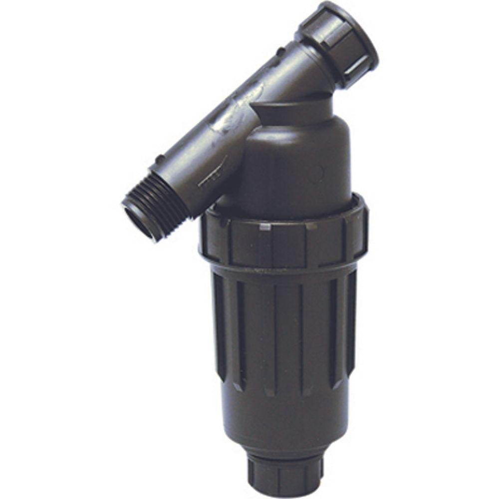 3//4 FHT X 3//4 MHT Hose Thread Connections One Stop Outdoor 3//4 Drip Irrigation//Hydroponics Y Filter with 155 Mesh Screen