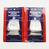 MA-RT1 Refrigerator Freezer Free Standing Thermometer -20 To 80F 2 Pack