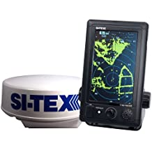 "T-760 SI-TEX T-760 Compact Color Radar with 4kW 18"" Dome - 7"" Touchscreen"