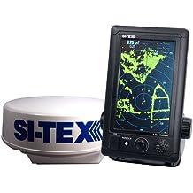 "SI-TEX T-760 Compact Color Radar w/4kW 18"" Dome - 7"" Touchscreen (51406)"