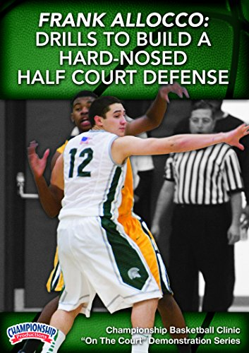 Championship Productions Frank Allocco: Skills and Drills for Building Hard Nosed Half Court Team Defense DVD