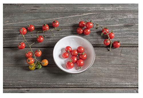 David's Garden Seeds Tomato Cherry Matt's Wild SL7732 (Red) 50 Non-GMO, Heirloom - Cherry Large Red