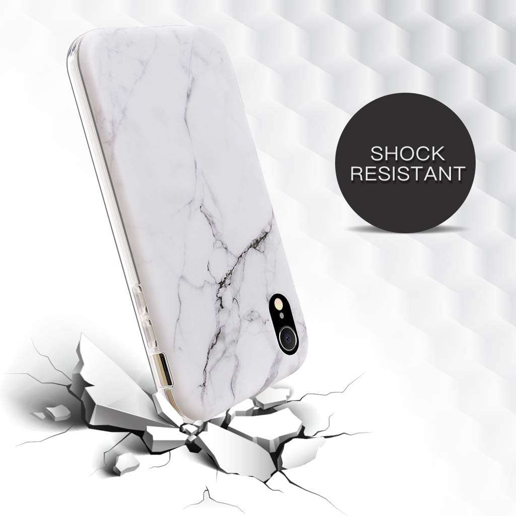 GOLINK Full Body Shockproof Protective Case with Built-in Screen Protector for 6.1 inch iPhone XR Leopard