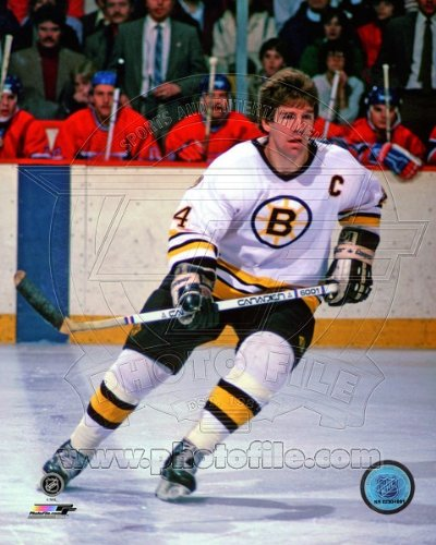 - Terry O'Reilly Boston Bruins NHL Action Photo 8x10 #3