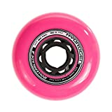 Rollerblade Hydrogen Urban 80mm 85A (8 Pack), Pink, One Size