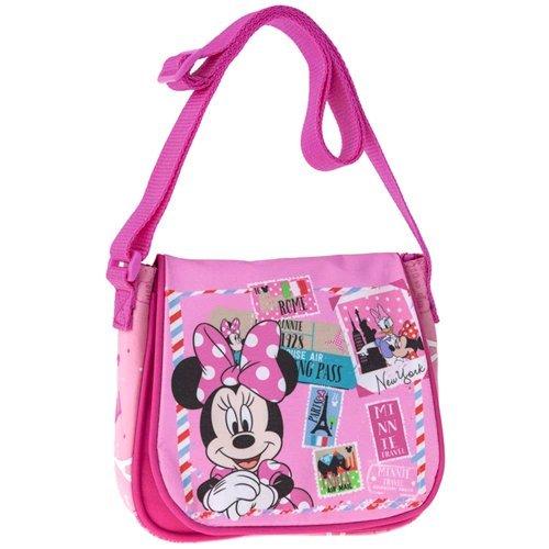 Bandolera Minnie 15 Bolsa Manos Libres Diseño 4075451 20 X Tipo Mouse Disney Cm De Rosa Con 8 gCxAUwq