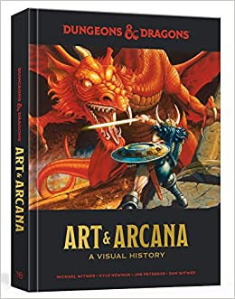 Dungeons Dragons Art Arcana A Visual History Michael