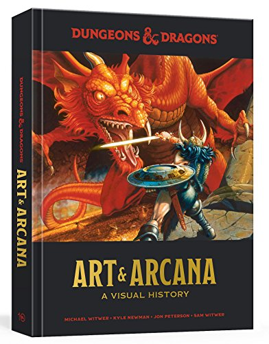 Product picture for Dungeons and Dragons Art and Arcana: A Visual History by Michael Witwer
