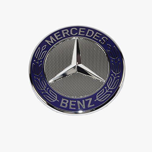 Mercedes benz hood star emblem badge genuine original for Mercedes benz trunk emblem