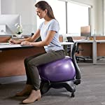 NATARIFITNESS..COM  512y8ANrgwL._SS150_ Gaiam Classic Balance Ball Chair – Exercise Stability Yoga Ball Premium Ergonomic Chair for Home and Office Desk with…
