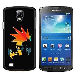 """For Samsung Galaxy S4 Active i9295 , S-type Punk Fumador retro"""" - Arte & diseño plástico duro Fundas Cover Cubre Hard Case Cover"""
