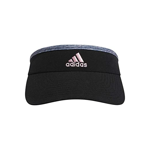 6d9bbe56 Amazon.com: adidas Women's Match Visor, Black/Jersey Fleck True Pink ...