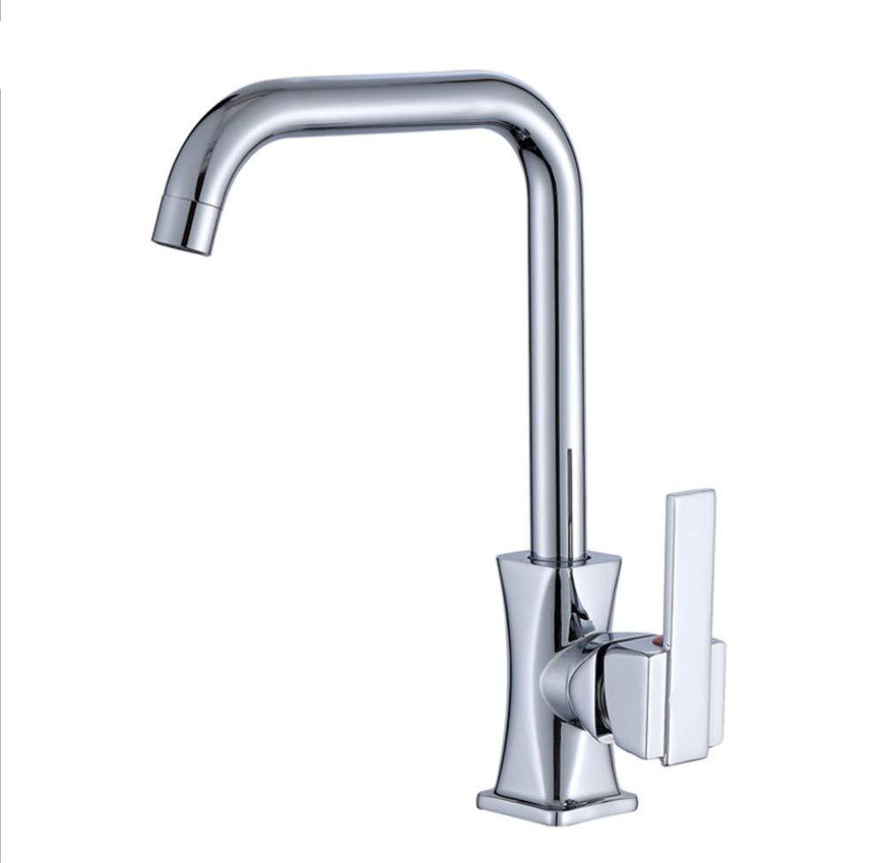 Edelstahl Einhand Mischer Einhebel Wasserhahn, Bad, Küchenschüssel, Wasserhahn, Warm- Und Kaltwasserhahn