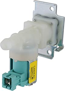 Kitchen Basics 101: 607335 Single Inlet Dishwasher Water Valve Assembly Replacement for Bosch