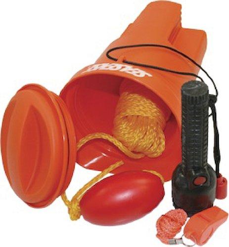 Seasense Bailer Kit: Whistle, Flashlight, Line, Float, and Bailer