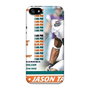 Marycase88 Iphone 5/5s High Quality Hard Phone Cases Customized Attractive Miami Dolphins Image [Kbk17088iGeJ]