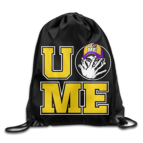 Drawstring Tote Backpack Bag WWE John Cena