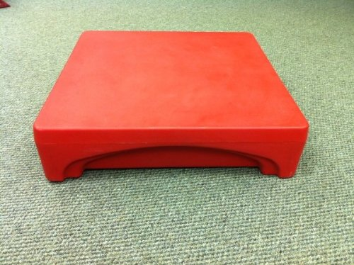 Forte Products 8002295 Mini Merchandiser, 24'' L x 24'' W x 6'' H, Red by Forte Products