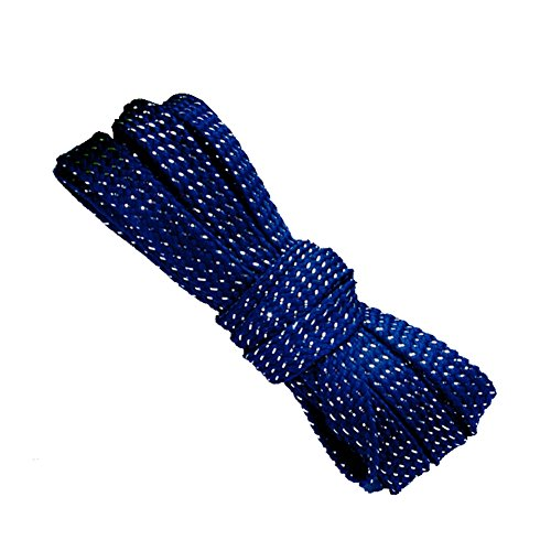 [Hand made] 9mm wide Thread Glitter Sparkle Shoelaces Shoe Laces Strings Shoestrings for Sneaker 110cm Navy Blue