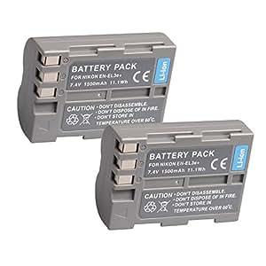 BPS EN-EL3e recargable & cargador