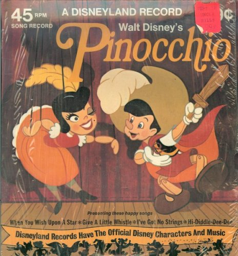 Walt Disney's Pinocchio Disneyland Record (45 RPM) ()