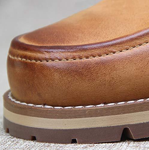 Uomo Low Pelle Uomo 42 Top A ' S Casual Traspirante Calzature Uomini Scarpe In Scarpe Scarpe Formali Vintage Utensili wqB4n7tI