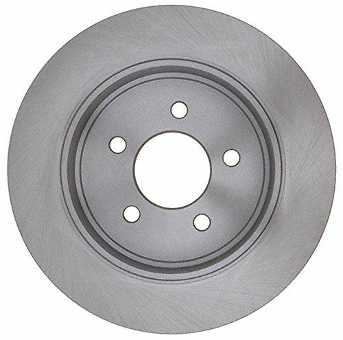 ACDelco 18A2810A Advantage Non-Coated Rear Disc Brake Rotor