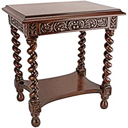 Design Toscano Camberwell Manor Medieval Petite Side Table