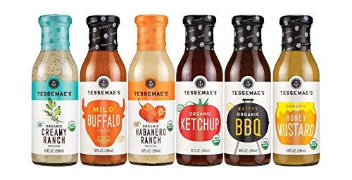 Tessemae's All Natural Summer Sauces Pack (Buffalo Mustard)