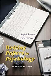 Writing Papers in Psychology: A Student Guide to Research Papers, Essays, Proposals, Posters, and Handouts (with InfoTrac)